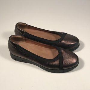 Clarks Artisan Daelyn Hill Bronze Loafers Women 8